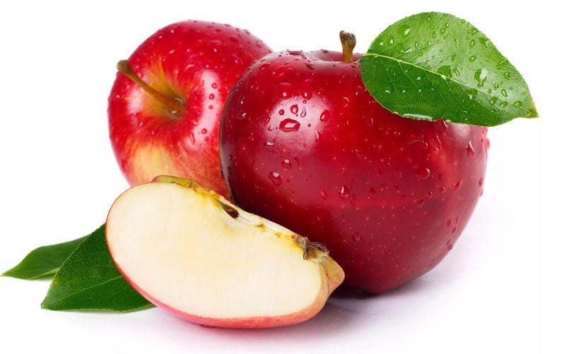 продукты снижающие холестерин - яблоки