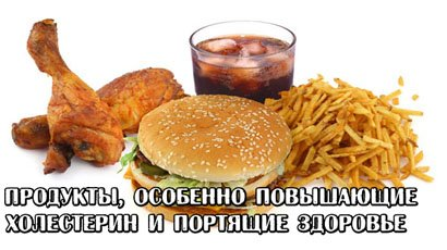 продукты повышающие холестерин в крови